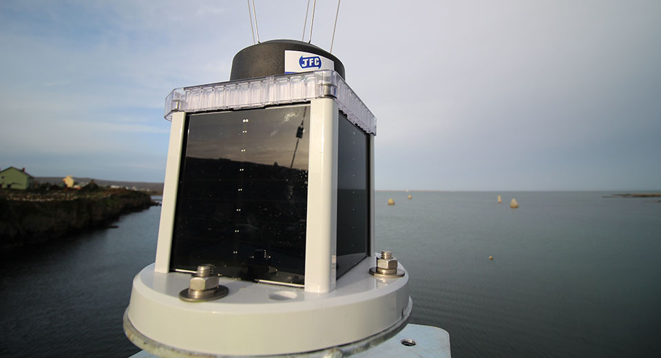2 - 4 NM Solar Marine Lantern