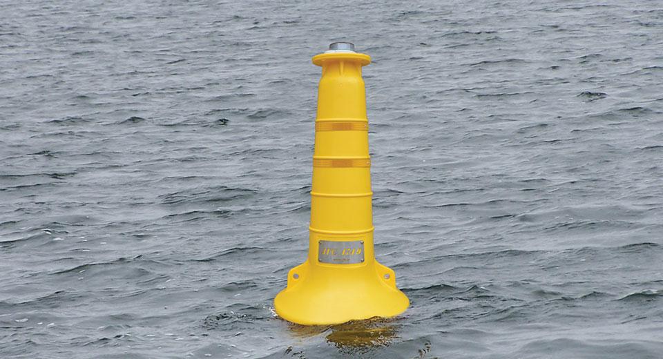 JFC Marine Nav01 yellow buoy