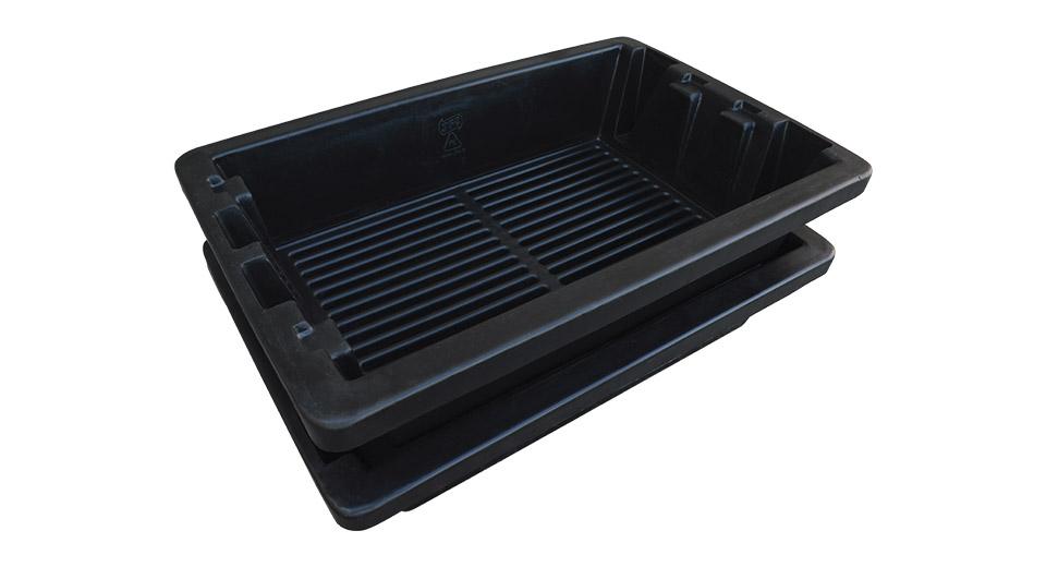 Black Shrimp Grader Tray