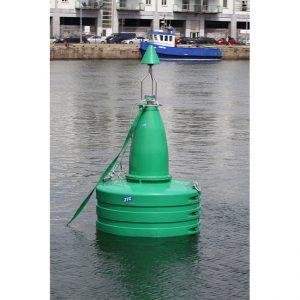 Green JFC Marine G1800 Gannet Navigation Buoy in use