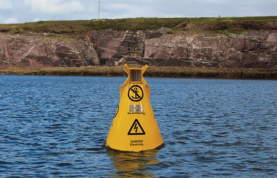 JFC_Marine Special Mark Navigation Buoy in use